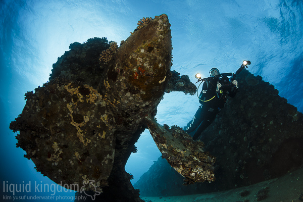 Al Kahfain propeller and diver